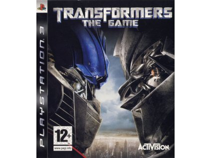 176847 transformers the game playstation 3 front cover