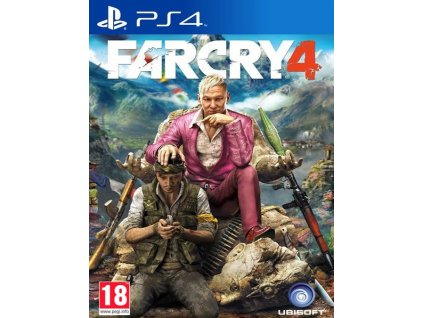 PS4 Far Cry 4 CZ
