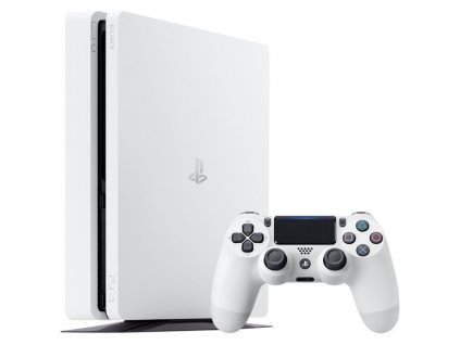 PS4 Konzole Sony Playstation 4 Slim white 500GB