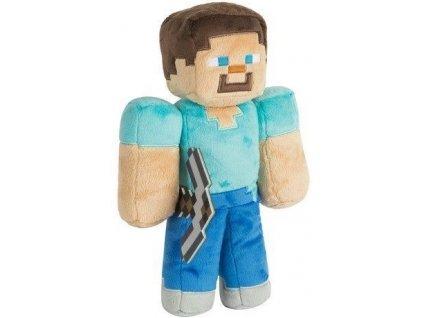Merch Plyšová hračka Minecraft Steve With Hang Tag 30 cm
