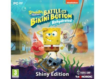 PC Spongebob SquarePants Battle for Bikini Bottom Rehydrated Shiny Edition