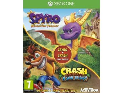 XONE Crash Bandicoot N Sane Trilogy Spyro Reignited Trilogy