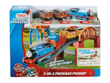 Toys Thomas and Friends 3in1 Package Pickup Motorized