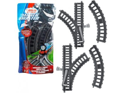 Toys Thomas and Friends Trackmaster Switch and Curved Track Pack