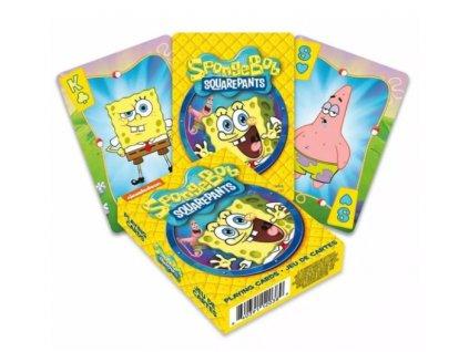 Merch Hrací karty Spongebob Cartoon