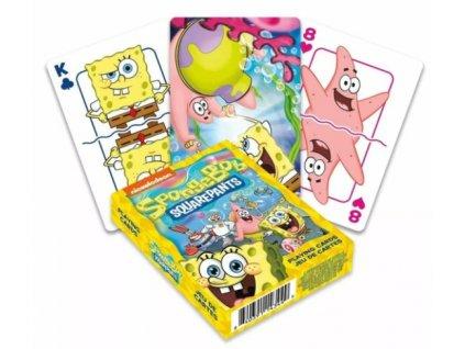 Merch Hrací karty Spongebob
