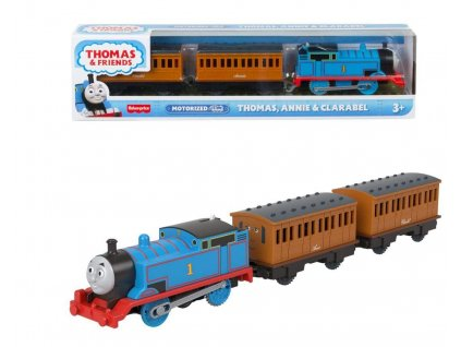 Toys Thomas and Friends Trackmaster Trains With 2 Wagons Thomas, Annie and Clarabel