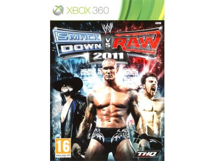 Jaquette wwe smackdown vs raw 2011 xbox 360 cover avant g