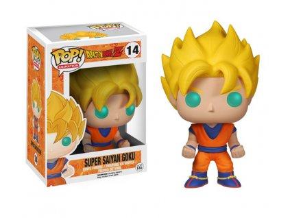 Merch Funko Pop! 14 Dragonball Z Super Saiyan Goku