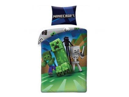 Merch Povlečení Minecraft 140 x 200cm