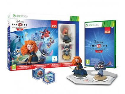 X360 Disney Infinity Play Without Limits 2.0 Toy Box Combo Pack