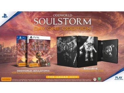 PS5 Oddworld Soulstorm Day One Edition Steelbook