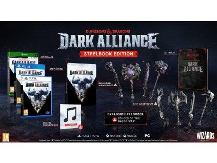 PS5 Dungeons and Dragons Dark Alliance Steelbook Edition