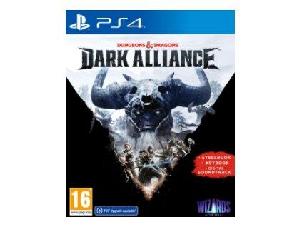 PS4 Dungeons and Dragons Dark Alliance Steelbook Edition