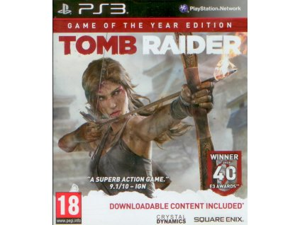 PS3 Tomb Raider Game of the Year Edition