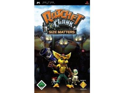 PSP Ratchet a Clank Size Matters