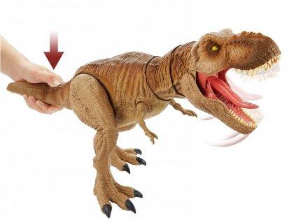 Toys Figurka World Camp Cretaceous Primal Attack Epic Roarin Tyrannosaurus Rex