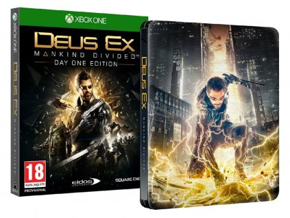 XONE Deus Ex Mankind Divided Steelbook N