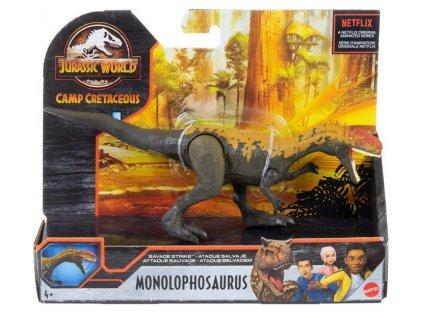 Toys Figurka Jurassic World Camp Cretaceous Dino Rivals Savage Strike Monolophosaurus