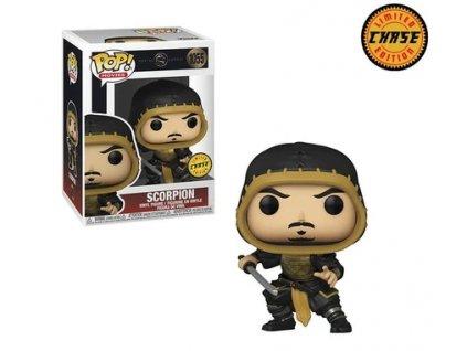 Merch Funko Pop! 1055 Mortal Kombat Limited Chase Edition Scorpion