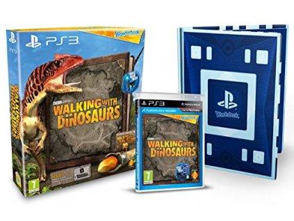 PS3 Wonderbook Walking with Dinosaurs + Wonderbook CZ