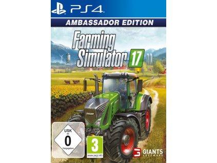 PS4 Farming Simulator 17 Ambassador Edition