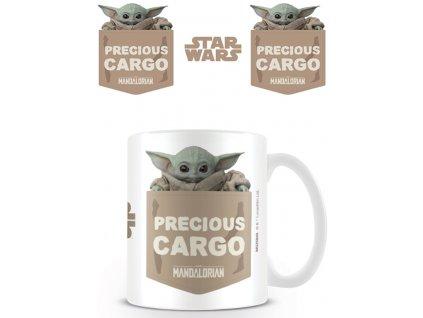 Merch Hrnek Star Wars The Mandalorian Precious Cargo