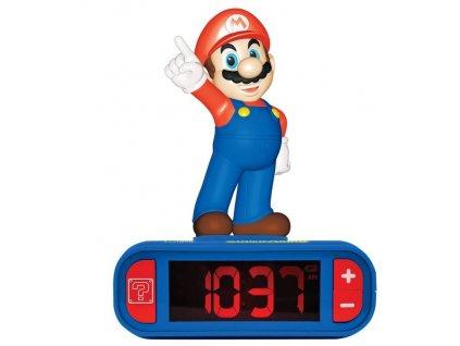 Merch Budík se zvukovými efekty Super Mario