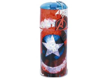 Merch Láhev Marvel Captain America Shield 350ml