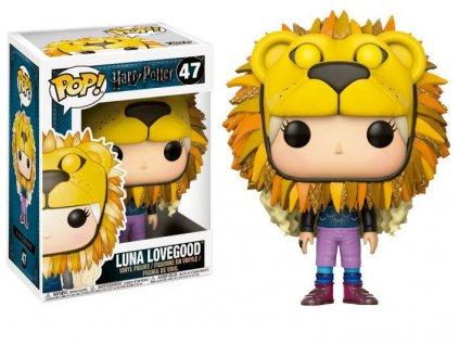 Merch Funko Pop! 47 Harry Potter Luna Lovegood Lion Head
