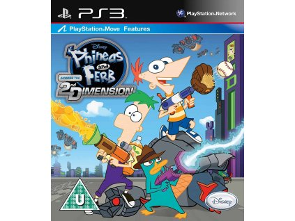 PS3 Phineas and Ferb Across the 2nd Dimension