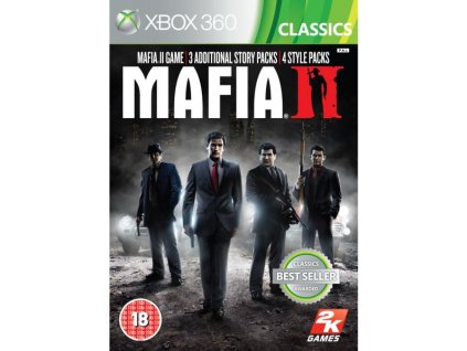 X360 Mafia 2 Special Extended Edition