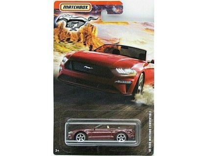 Toys Auto Matchbox 18 Ford Mustang Convertible