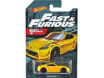 Toys Hot Wheels Fast and Furious Nissan 370Z