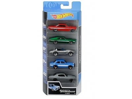 Toys Hot Wheels Fast and Furious 5ks angličákyv