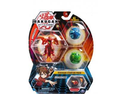 Toys Bakugan Battle Planet Battle Brawlers Bakugan Starter Pack Dragonoid