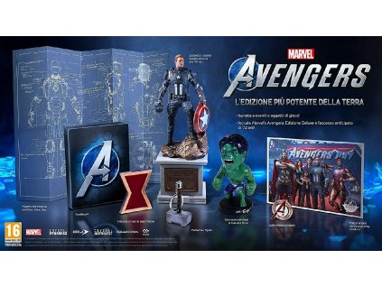 PS4 Marvel Avengers Earths Mightiest Edition