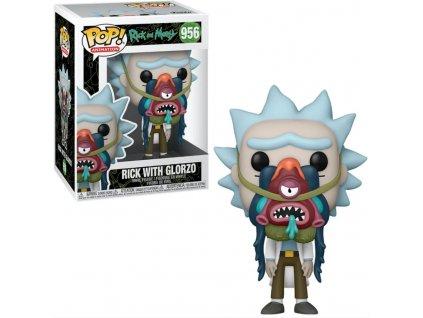 Merch Funko Pop! 956 Rick and Morty Rick With Glorzo