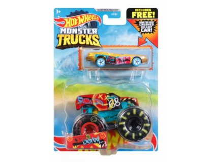 Toys Hot Wheels Monster Trucks Dem Derby and Truc
