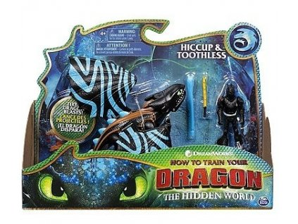 Toys How To Train Your Dragon Dragon and Viking Hiccup and Toothless