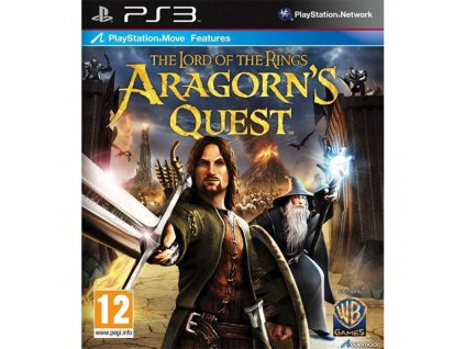 PS3 The Lord of the Rings Aragorns Quest