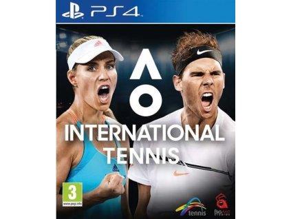 PS4 AO International Tennis