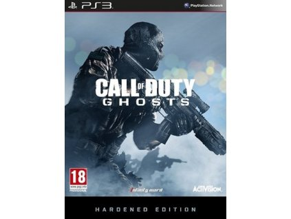 PS3 Call of Duty Ghosts Hardened Edition