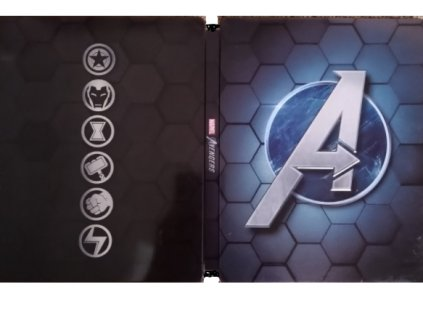 PS4 Marvel Avengers CZ Steelbook