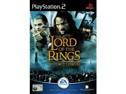 PS2 The Lord Of The Rings The Two Towers