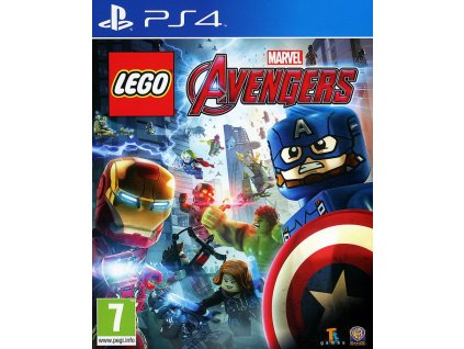 PS4 Lego Marvel Avengers Nové