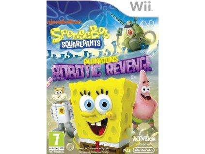 Wii SpongeBob SquarePants Planktons Robotic Revenge