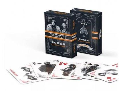 Merch Pokrové hrací karty Bud Spencer and Terence Hill Western