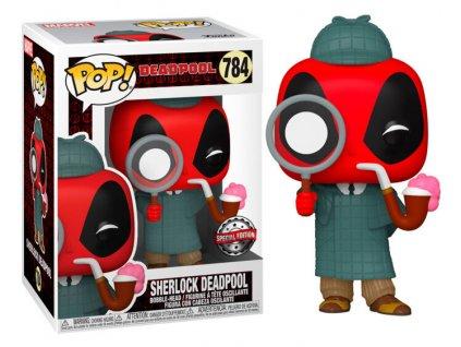 Merch Funko Pop! 784 Deadpool Sherlock Deadpool
