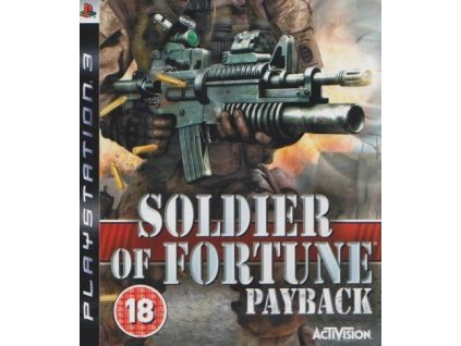 PS3 Soldier Of Fortune Payback